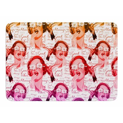 Good Vibes by Shirlei Patricia Muniz Bath Mat