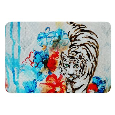 Tiger by Sonal Nathwani Bath Mat