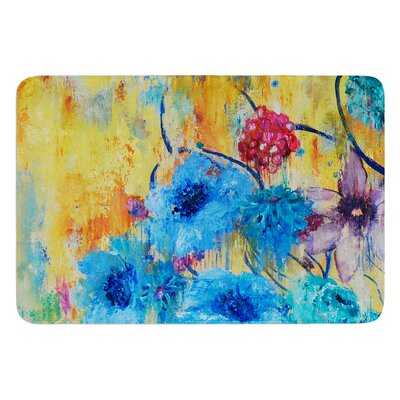 Cosmic Love Garden by Sonal Nathwani Bath Mat