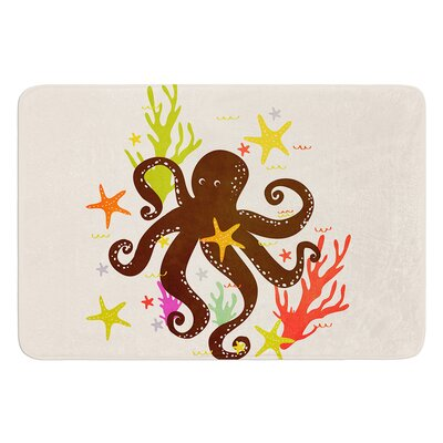 Friends Around the Sea by Strawberringo Bath Mat