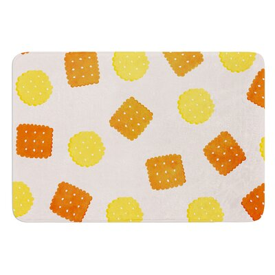 Do You Love Biscuits? by Strawberringo Bath Mat