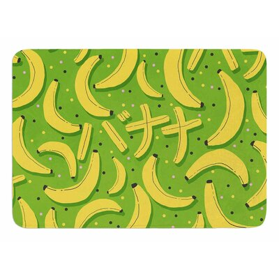 Banana by Strawberringo Bath Mat