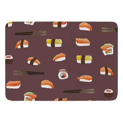 Sushi by Strawberringo Bath Mat
