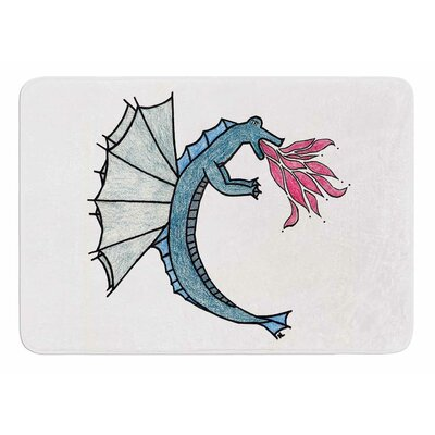 Water Dragon by NL Designs Bath Mat