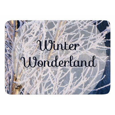 Winter Wonderland by NL Designs Bath Mat
