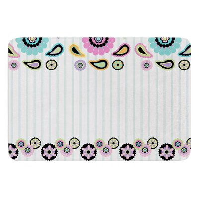 Paisley Party by Nina May Bath Mat