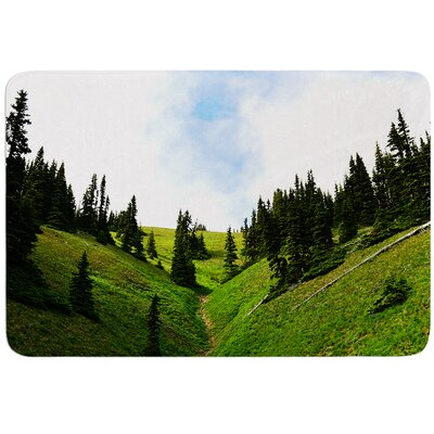 Going to the Mountains by Robin Dickinson Bath Mat