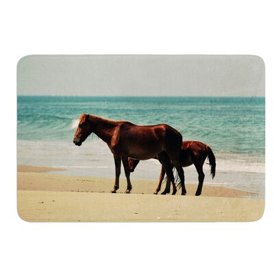 Sandy Toes by Robin Dickinson Bath Mat