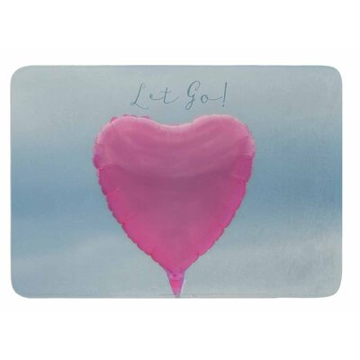 Let Go by Robin Dickinson Bath Mat