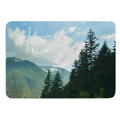 Adventure Beckons by Robin Dickinson Bath Mat