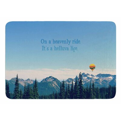 Its A Helluva Life by Robin Dickinson Bath Mat