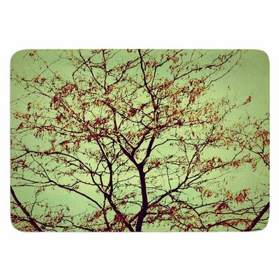 Modern Fall Tree by Sylvia Coomes Bath Mat