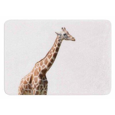 Giraffe by Sylvia Coomes Bath Mat