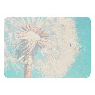 Dandelion by Sylvia Coomes Bath Mat