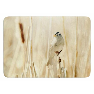 Bird In Ethereal Light by Sylvia Coomes Bath Mat