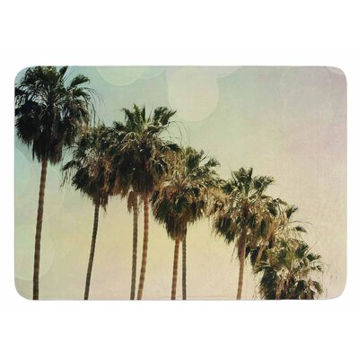 Palm Trees by Sylvia Coomes Bath Mat