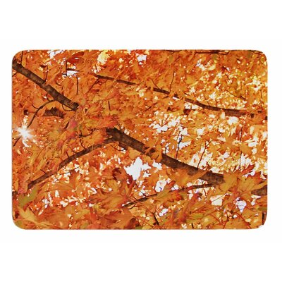 Fall Foliage by Sylvia Coomes Bath Mat