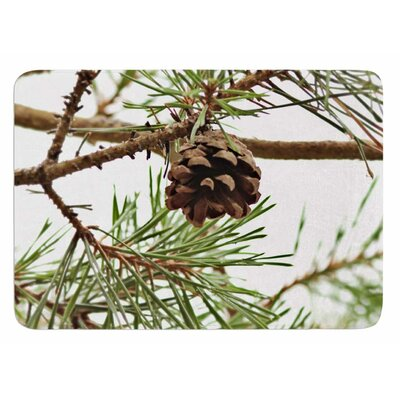 Pinecone by Sylvia Coomes Bath Mat