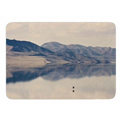 Reflective 1 by Sylvia Coomes Bath Mat