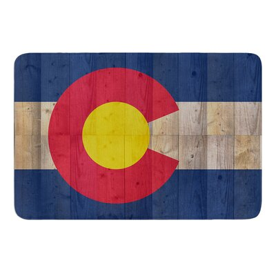 Flag of Colorado by Bruce Stanfield Bath Mat