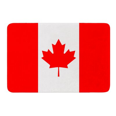 Flag of Canada by Bruce Stanfield Bath Mat