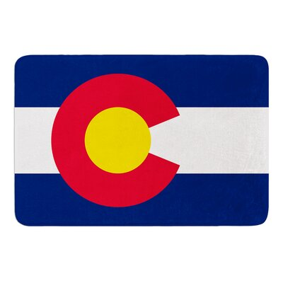 Flag of Colorado II by Bruce Stanfield Bath Mat