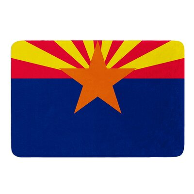 Flag Of Arizona by Bruce Stanfield Bath Mat