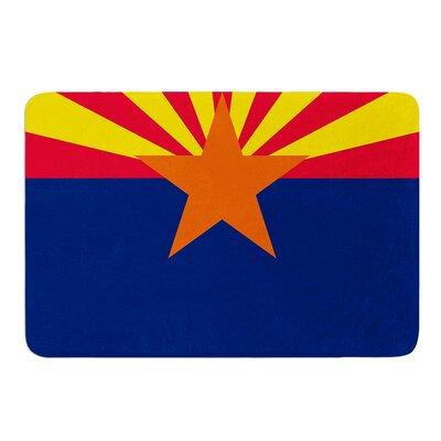 Flag Of Arizona by Bruce Stanfield Bath Mat