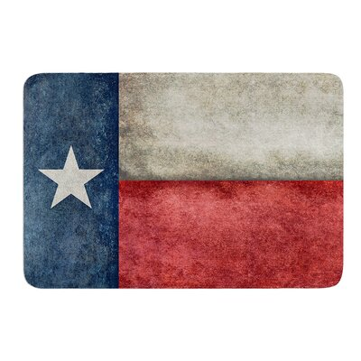Texas State Flag by Bruce Stanfield Bath Mat