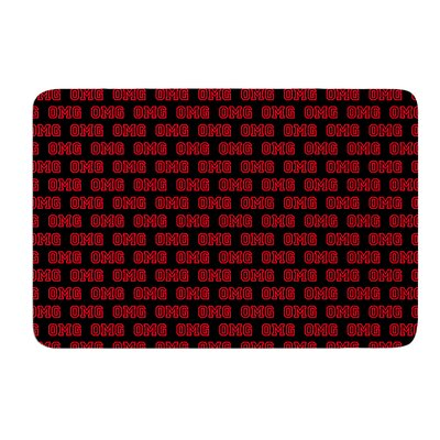 OMG by Bruce Stanfield Bath Mat