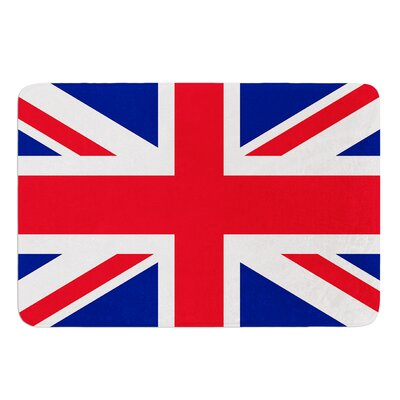 Classic Union Jack by Bruce Stanfield Bath Mat