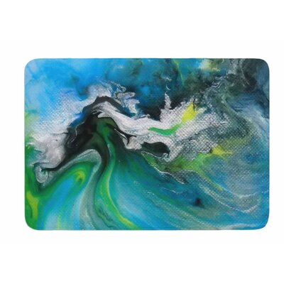 Abstract by Carol Schiff Bath Mat