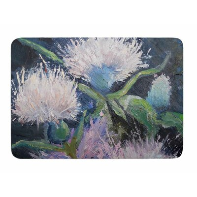 Thistle Love by Carol Schiff Bath Mat
