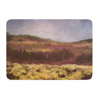 Field Of Yellow by Cyndi Steen Bath Mat