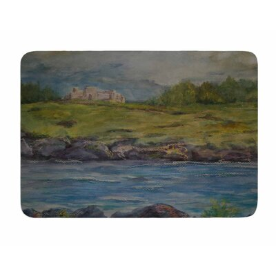 Castle Ruins by Cyndi Steen Bath Mat