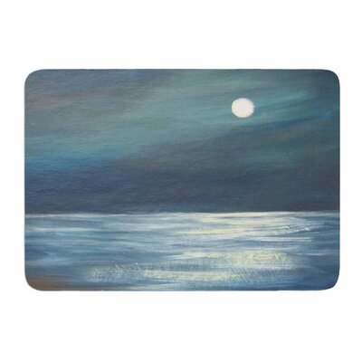 A Walk In The Moonlight by Cyndi Steen Bath Mat