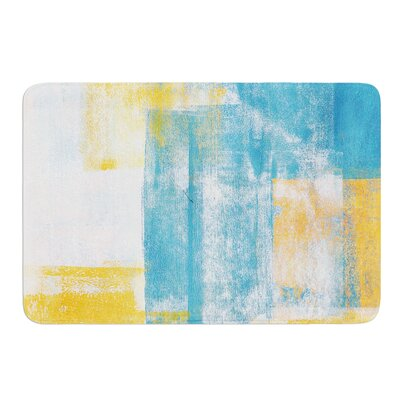 Color Combo by CarolLynn Tice Bath Mat Size: 17W x 24L
