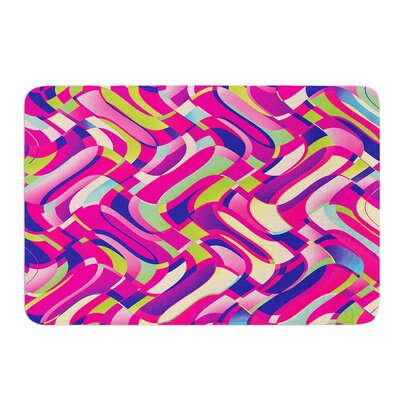 Colorful Movement by Dawid Roc Bath Mat Size: 17W x 24L
