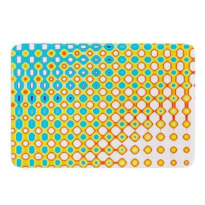 Psychedelic Art by Dawid Roc Bath Mat Size: 24 W x 36 L
