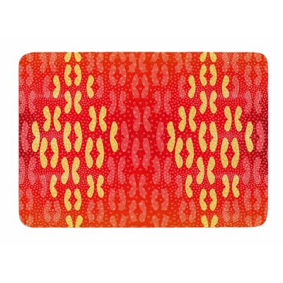 Butterfly Elements by Dan Sekanwagi Bath Mat
