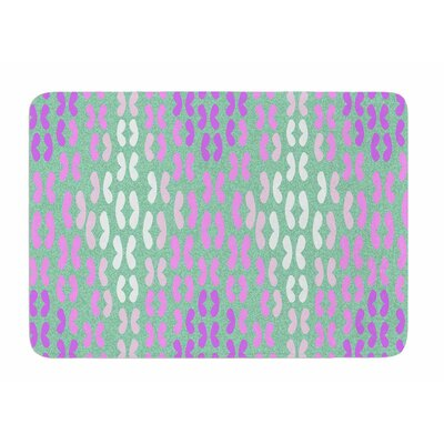 Butterfly Elements II by Dan Sekanwagi Bath Mat