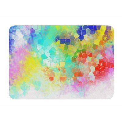 Color Structure by Dan Sekanwagi Bath Mat