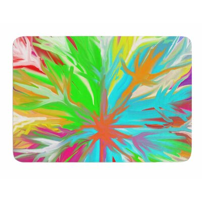 Tropical Paradise by Dan Sekanwagi Bath Mat