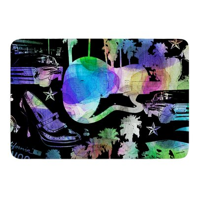California Dream by Gabriela Fuente Bath Mat Size: 17W x 24L