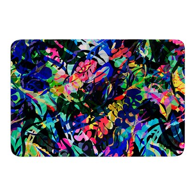 Flora Splash by Gabriela Fuente Bath Mat Size: 24
