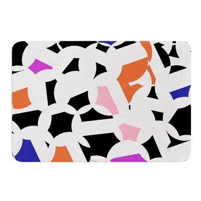 Geo Fun by Gabriela Fuente Bath Mat Size: 24 W x 36 L