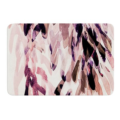 Abstract Leaves II by Iris Lehnhardt Bath Mat