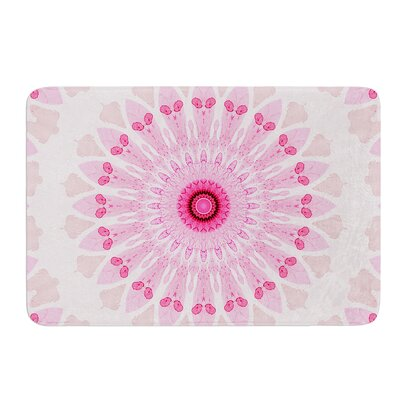 Flower Power by Iris Lehnhardt Bath Mat Size: 17w x 24L