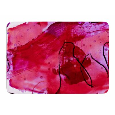 Abstract by Iris Lehnhardt Bath Mat