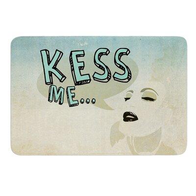 KESS Me by iRuz33 Bath Mat Size: 17w x 24L